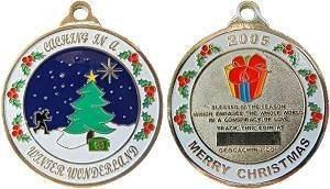 Holiday Coin Geocoin (X-Mas Edition 2005)