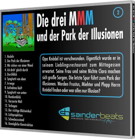Die drei MMM und der Park der Illusionen - Cover back