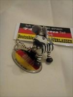 Zara das Zebra ist startklar.