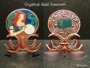Crystal Ball Geocoin