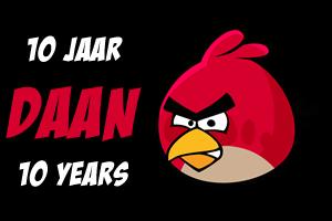 Daan's Red Bird