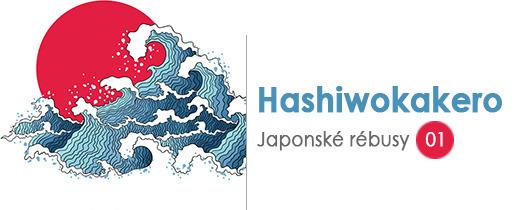 Japonské rébusy 1 - Hashiwokakero