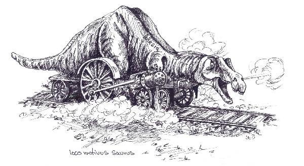 loco motivus saurus