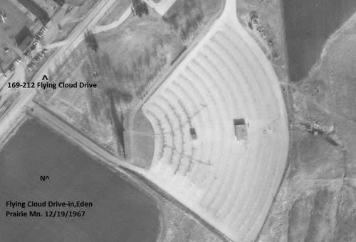 Gc56zdd Ep History Flying Cloud Drive In Theatre Traditional Cache In Minnesota United States Created By Master Sergeant Usmc