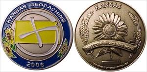 Kansas Geocoin