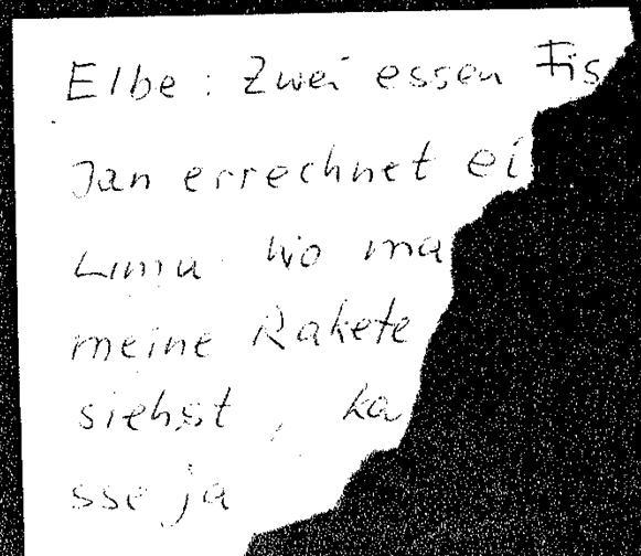Der Zettel