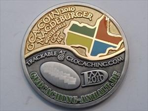 GCA-Coin 2010 - Magdeburg FRONT