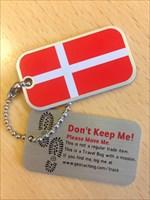 Denmark Flag Bug - Blanchet-Pedersen