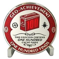 Geo-Achievement Finds 100 Geocoin