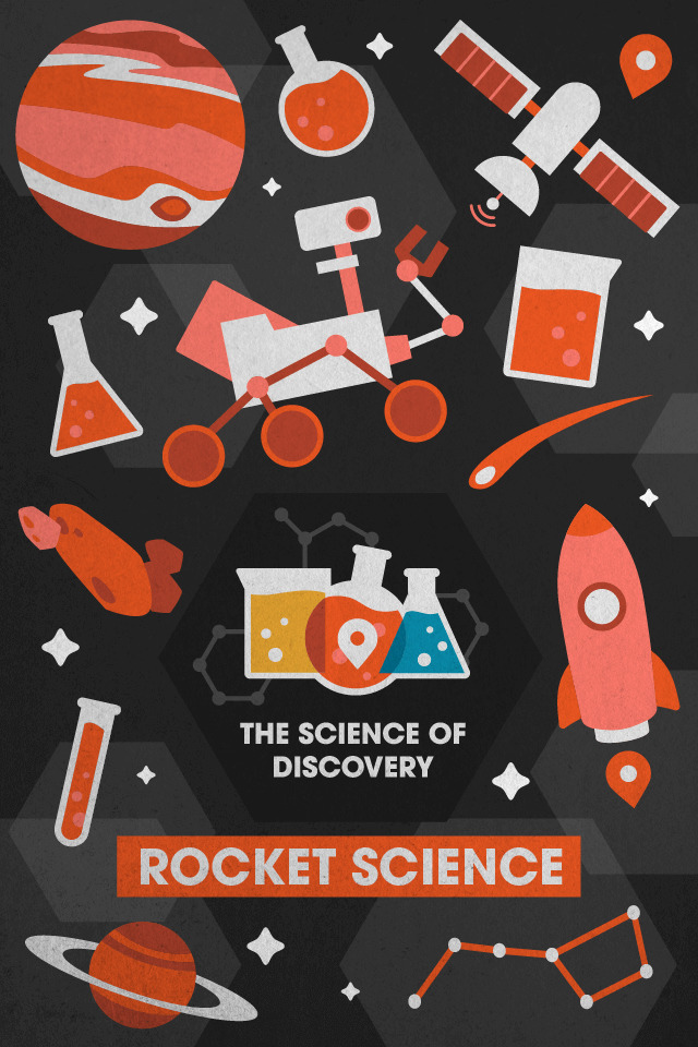 The Science of Discovery: Rocket science