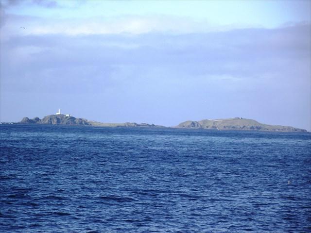 View of Inishtrahull Island