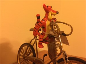 Tigger Bike Riding