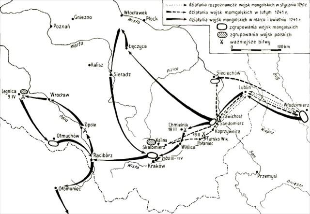 Najazd Mongołów 1241