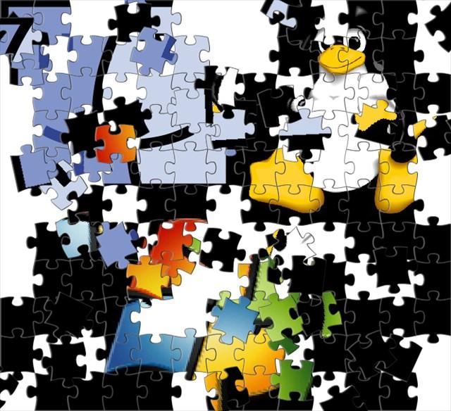 Plattform-Puzzle