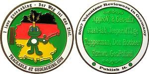 2007 German Reviewer Geocoin