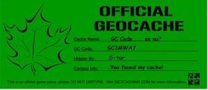 Banner GC code...en nu?