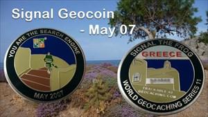 Signal Geocoin - May 07
