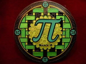 (Pille)Pi - Geocoin front