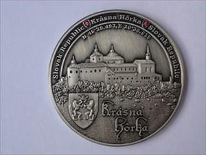 Krasna Horka geocoin - front
