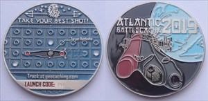Atlantic BattleCache 2019 Geocoin