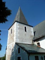 Věž a sakristie