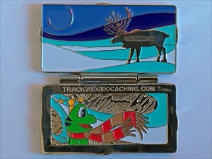 Holiday Package Geocoin