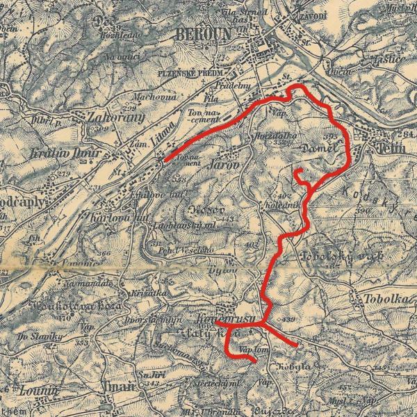 KBK - mapa