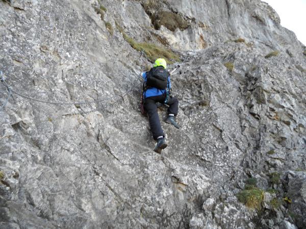 Klettersteig Chäligang : Klettersteig alpinschule adelboden