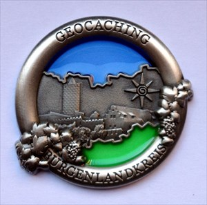 Burgenlandkreis Geocoin