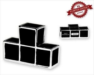 Tetromino Geocoin - T - Black XLE 75