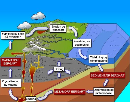 sedimentære bergarter kjennetegn