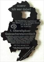 HuberSports 1. Oberallgäuer Geocacherstammtisch -