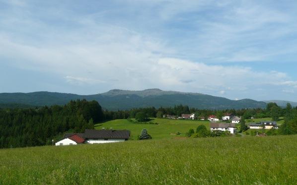 Blick aus Althütte 3 / Pohled od Althütte 3