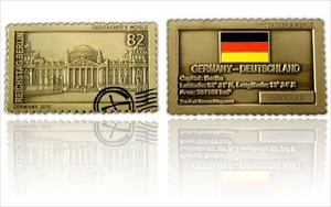 Geocachers World Coin Germany
