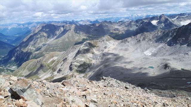 Ausblick vom Schwarzhorn