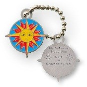Image of Travel Tag Sun