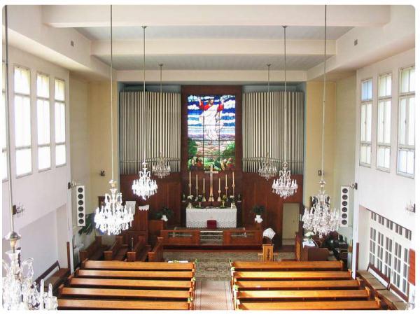 vnutro kostola