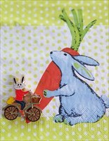 Easter Bunny Bicycle Geocoin