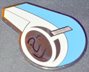 mondou2 Whistle Geocoin