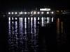 baía iluminda por cortina de luz log image