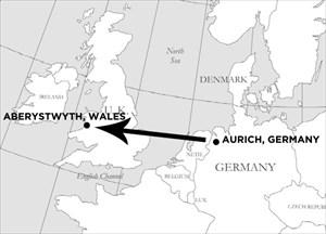 Show me the way to Aberystwyth!