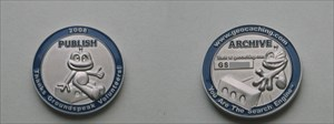 Volunteer Reviewer Coin 2008