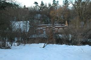 pohled od bunkru