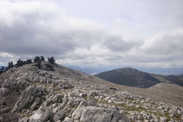 View to Liontari Peak