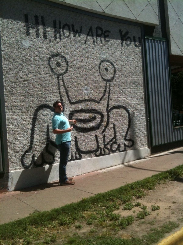 Gc27h7a ahg hi how are you traditional cache in texas for Daniel johnston mural austin