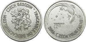 Czech Republic Geocoin