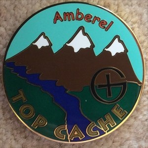 Amberel Top Cache Geocoin