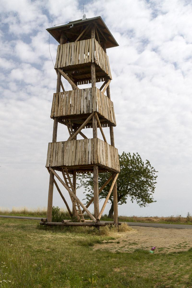 Obnovená rozhledna / New Tower