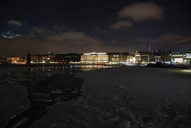 Panorama bei Nacht