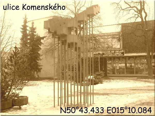 ulice Komenskeho
